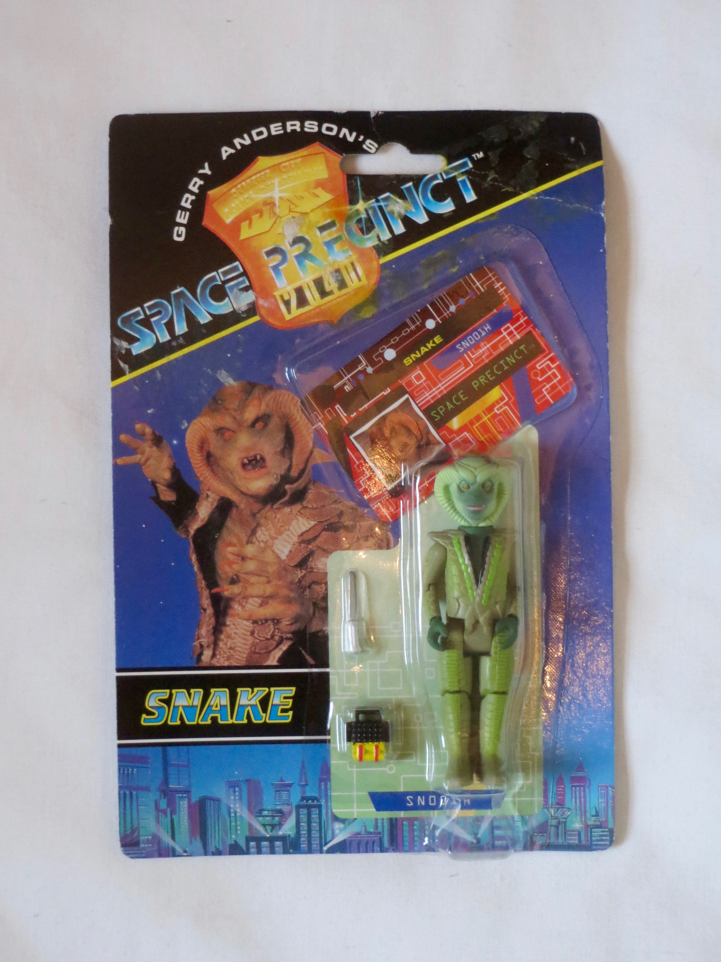 Gerry Anderson Space Precinct figurine Vivid 1994 Serpent