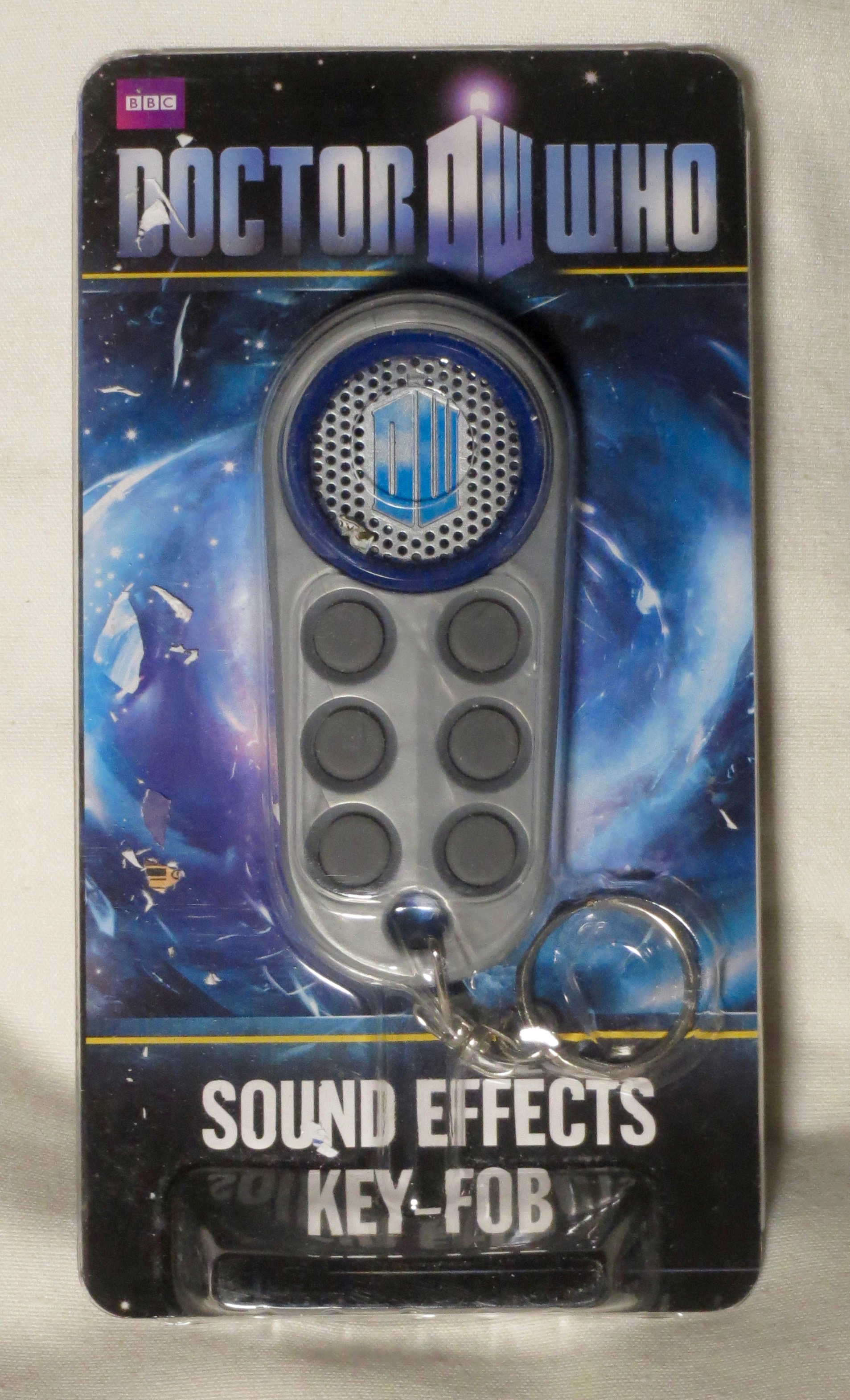 Dr Who: Official BBC Sound Effects Keyfob Keyring (2009)