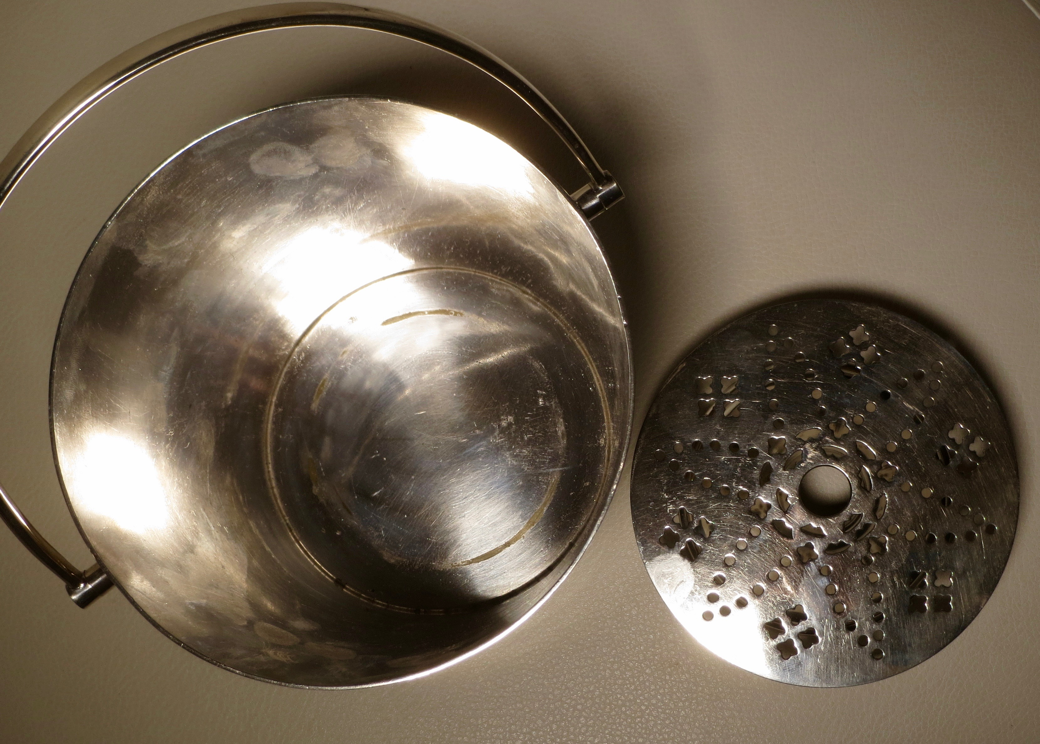 Martin Hall Amp Co Silver Plated Ice Bucket Vees Cave